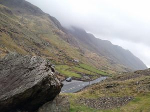 The Pass at Mt Snowdon, Gwynedd, north Wales